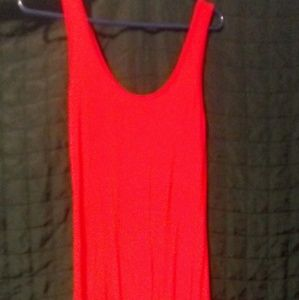Red Forever 21 Maxi Dress